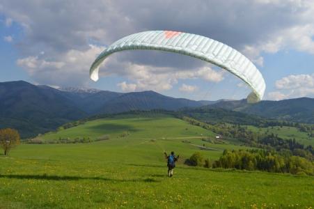 Paragliding Nizke Tatry